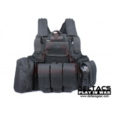 Deltacs CIRAS Type Tactical Vest - Black
